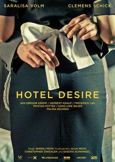 Hotel Desire (2011) Antonia, madre soltera, lleva a su niño de siete años a una parada de autobús en Berlín, desde donde el niño a solas con su padre viajará a París de vacaciones. Debido a su trabajo como camarera en un hotel requiere mucho tiempo, ella se mete en problemas con sus superiores. #HotelDesire