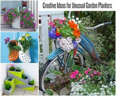 Creative Ideas for Unusual Garden Planters