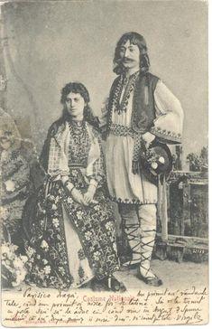 THE VINTAGE THIMBLE — Romanian Folk Dress Various photographs depicting...