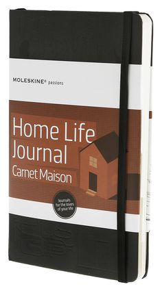 Moleskine Home Life Journal