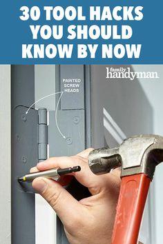 Hacks Diy, Home Hacks, Cleaning Hacks, Diy Home Repair, Home Tools, Up House, Home Repairs, Diy Organization, Woodworking Tips