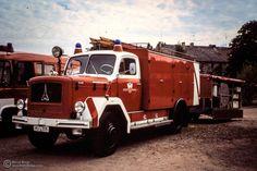 #Feuerwehr #Hanau - HU-206 - #Schlauchwagen SW 2000-Tr. mit Chemikalien-Schutzanhänger © Bernd Biege