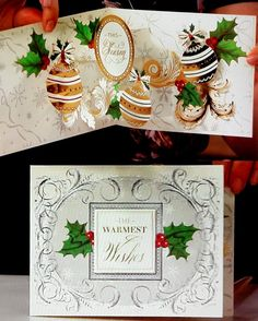 Anna Griffin® Christmas Pop-Up Cardmaking Kit - 7834435 Pop Up Christmas Cards, Chrismas Cards, Christmas Pops, Xmas Cards, Holiday Cards, Pop Up Greeting Cards, Pop Up Cards, Handmade Christmas, Christmas Crafts