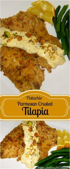 ... Tilapia on Pinterest | Crusted Tilapia, Parmesan Crusted and Crusts