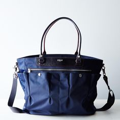 MZ Wallace + Food52 Navy Market Tote. Let's all just acknowledge that this is a $365 FOOD TOTE, but it is beautiful.