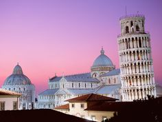 The leaning tower of Pisa, Italy....One day!