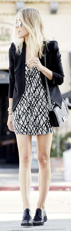 Keepsake Black And White Feminine V Plunge Neckline Backless Graffiti Print Romper by Damsel In Dior