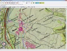 Mapa de situación Circuito MonegrosTT, un lugar donde aprender maniobras 4x4 y mucho más.