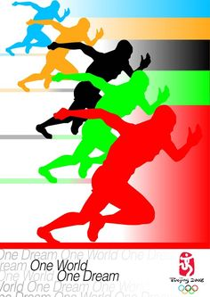 Bild: Olympic Beijing 2008 Poster by on DeviantArt Rio Olympics 2016, Summer Olympics, Olympic Sports, Olympic Games, Sports Day Poster, Sports Posters, Volleyball Posters, Page Borders Design, Vs The World