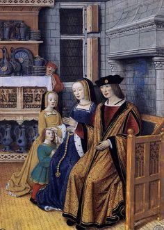 1500 -1510 - Jean Bourdichon - The Wealthy Man, Miniature, École nationale supérieure des Beaux-Arts, Paris - http://commons.wikimedia.org/wiki/File:Bourdichon_The_Wealthy_Man.jpg