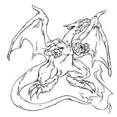 pokemon coloring pages - charizard picture 3   art: colorings, drawings, etc   pinterest