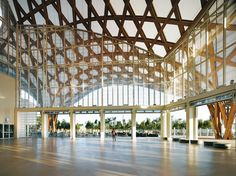 The new Metz Cathedral by Shigeru Ban Shigeru Ban, Kandinsky, A As Architecture, Architecture Quotes, Sustainable Architecture, Paul Klee, Centre Pompidou Metz, Timber Roof, Steven Holl