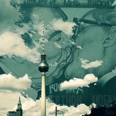 My Architectural Photography in Photoshop [Berlin, Germany] #berlin #germany #travel #berlinwallkiss #kiss #sky #photoshop #sity #photo #blue #histiry #art #edit #graphicdesign #love #clouds #traverl #colors #up