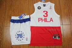 http://www.xjersey.com/76ers-3-iverson-whitered-suits.html Only$59.00 #76ERS 3 IVERSON WHITE&RED SUITS #Free #Shipping!