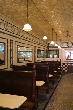 UK - London - Manze's Eel, Pie and Mash shop in Walthamstow, East London, UK.Although the shop still trades under the original Manze name, i...