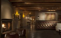 "ROSEWOOD Inn of the Anasazi | New Mexico Luxury Resorts | 2 Event Rooms:  ""The Wine Cellar"" & ""The Library"".  Events for up to 50 guests 