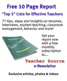 Great resource for new teachers