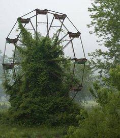 7. Princetown, USA i porzucony park rozrywki.