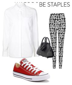 """""""Untitled #180"""" by sidne-alexander on Polyvore featuring Alexander Wang and Converse"""