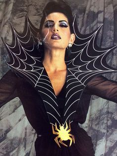 Image result for black widow spider costume ideas
