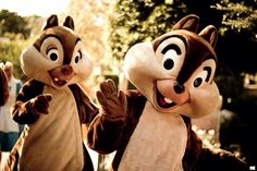 LOVE Chip and Dale!!!  Soooooo cute!!!!!!