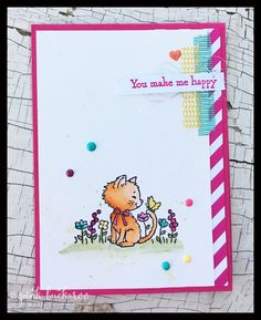Erica Cerwin, San Antonio, TX Stampin& Up Demonstrator- Dog Cards, Kids Cards, Pretty Cats, Pretty Kitty, Puppies And Kitties, Dogs, Love Stamps, Stamping Up Cards, Animal Cards
