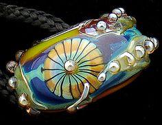 DSG Beads Handmade Organic Lampwork GlassEuropean by debbiesanders, $25.00
