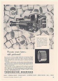1957 Torrington Needle Bearings King-Seeley Handy Vari-Speed Governor Print Ad