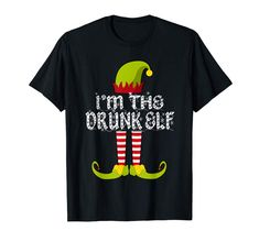 Amazon.com: I'm The Drunk Elf - Family Christmas T-Shirt: Clothing  #findyourthing #shopping #blackfriday #cybermonday #christmas #gifts #giftideas #giftsforhim #giftsforher