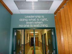 leader in me school hallways   Habits Tree, Hidden Forest, San Antonio, Texas