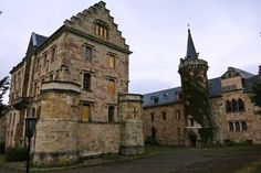 Abandoned Castle Reinhardsbrunn in Germany ~Found on FB page Deserted Places.