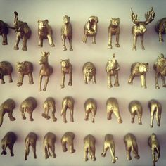 Animal Magnets: Heads n' Butts Mega Pack. ||  by vicious kitsch via Etsy.
