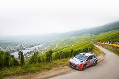 Watch how Hyundai World Rally team drove on a tortuous road- 산 허리를 깎아 만든험난한 도로를 달리는 i20 WRC- #tortuous #road #citybelow #niceview #race #carwithoutlimits #i20WRC #Germany #Rally #motorsport #WRC #Hyundai