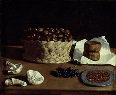 Francisco de (Spanish, Paolo Antonio Barbieri (Italian, Kitchen Still Life, The Art Institute of Chicago. Canvas Paper, Canvas Artwork, Chicago Museums, Italian Painters, Still Life Art, Art Institute Of Chicago, Cookies Et Biscuits, Art Reproductions, Be Still