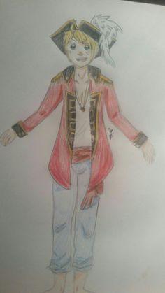 Hetalia - Alfred F. Jones ☆ United States of America ~ Pirate