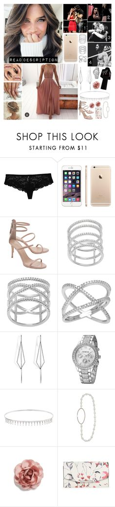 """💋 Samantha 💋 - Such A Big Brother"" by forgotten-memories ❤ liked on Polyvore featuring Giuseppe Zanotti, WWE, La Preciosa, Diane Kordas, Suzanne Kalan, Jennifer Behr, Cara and Ivanka Trump"