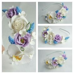 Wedding flowers. Wedding accessories. Wedding. Handmade flowers. Flowers. Handmade accessories. Headband. Flowers headband. Spring.