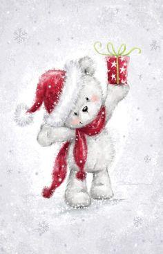 Christmas Pictures To Draw, Christmas Drawing, Christmas Paintings, Christmas Images, Christmas Art, Winter Christmas, Vintage Christmas, Christmas Decorations, Christmas Teddy Bear