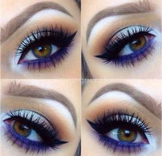 In order to transform your eyes and improve your appearance, having the very best eye make-up recommendations can help. You need to make sure you wear make-up that makes you look even more beautiful than you are already. Makeup Goals, Makeup Inspo, Makeup Inspiration, Make Up Looks, Gorgeous Makeup, Pretty Makeup, Gorgeous Eyes, Pretty Eyes, Eye Makeup