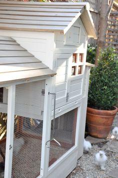 Velvet & Linen Chicken Coop