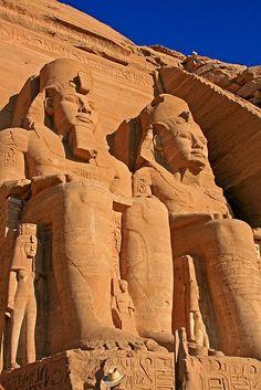 Templo de Ramses II,Abu Simbel (Egipto)