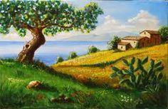pittura a olio paesaggi - Cerca con Google
