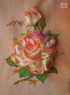 Ideas para el hogar: Rosas con cintas de encaje para decorar lo que gustes