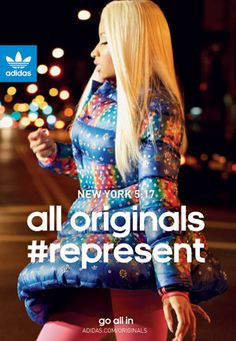 Nicki Minaj for Adidas Originals