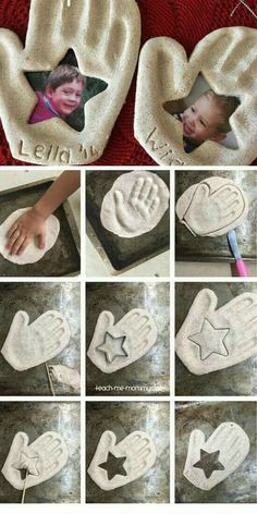 Handprint & Photo Keepsake Ornament DIY Fathers Day Gift Ideas from Kids DIY Birthday Gifts for Dad Diy Birthday Gifts For Dad, Diy Father's Day Gifts, Father's Day Diy, Birthday Ideas, 25 Birthday, Sister Birthday, Birthday Presents, Kids Crafts, Craft Projects