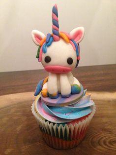 Unicorn Cupcake Topper