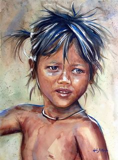 Adan J Cespedes #Watercolor Salvaje www.adanjcespedes.com