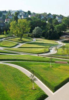 Rainer Schmidt Landschaftsarchitekten, Future Park Killesberg, Stuttgart