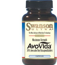 Avocado Soybean Unsaponifiables (ASU) | Maximum-Strength AvoVida | Hip and Joint pain reduction | Good price with discount