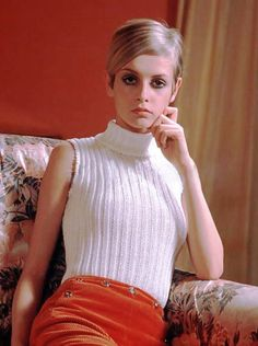 The original twig: UK's Twiggy in her skinny girl prime.